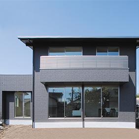 広く自由に2階建の家イメージ
